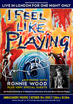 An Evening with Ronnie Wood – I Feel Like Playing